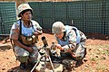 Female combat troops of South African Contingent in MONUSCO on robust foot and moblile patrols 76.jpg