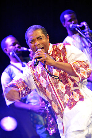 Femi Kuti - Performance at Warszawa Cross Culture Festival – 25 September 2011