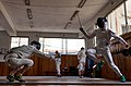 Fencing in Greece. Epee Fencers. Athenaikos Fencing Club.jpg