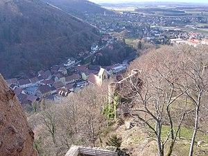 Ferrette - Image: Ferrette vue du château