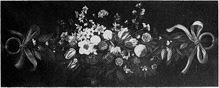 Festoon of flowers