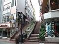 Fethiye caddesi havuzlu merdivenler ve saat - panoramio.jpg