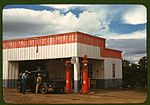 Filling station and garage at Pie Town 1a34107v.jpg