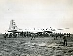 First B-29 on Iwo Jima.jpg