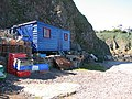 Fishermans shed at St Abbs Harbour - geograph.org.uk - 1196900.jpg