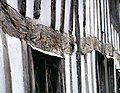 Five hundred year old beams in the Guildhall, Lavenham - geograph.org.uk - 533942.jpg