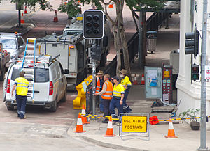 Fixing traffic light
