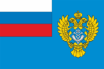 Flag of Rossvyaz.png