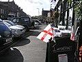 Flags for sale, Kirkby Stephen - geograph.org.uk - 1532906.jpg