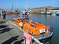Fleetwood Lifeboat in Glasson Dock - geograph.org.uk - 1102422.jpg