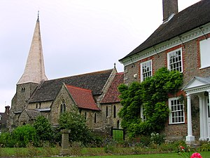 Fletching, East Sussex - Church of St. Andrew and St. Mary the Virgin