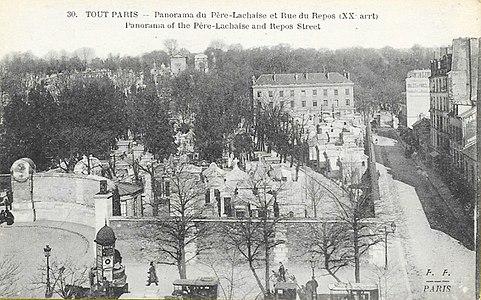 Fleury - Tout Paris - 1230 - Panorama du Père-Lachaise et de la rue du Repos.jpg
