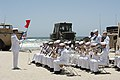 Flickr - Official U.S. Navy Imagery - The U.S. Navy Band Southwest plays at a change of command ceremony for Beachmaster Unit 1..jpg