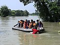 Flood victims being rescued by the Navy personnel, in Bihar (1).jpg