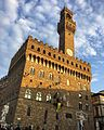 Florence - Palazzo Vecchio with the firemen 2016-11-04.jpg