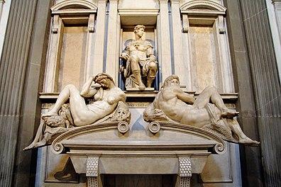 Florenz - Neue Sakristei Grabmal Giuliano II