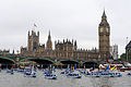 Flotilla of Boats Passing Westminster During Diamond Jubilee River Thames Pageant MOD 45154239.jpg