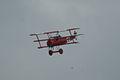 Fokker Dr.I Manfred Richthofen Last Pass 01 Dawn Patrol NMUSAF 26Sept09 (14597967824).jpg