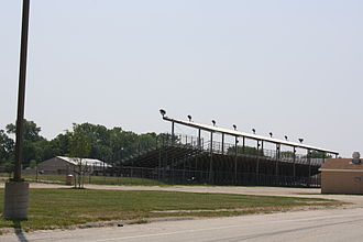 Fond du Lac County, Wisconsin - Grandstands for the Fond du Lac County Fair