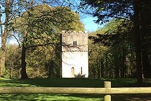 Fonmon Castle - The watchtower at Fonmon Castle