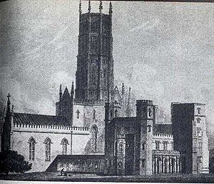 Fonthill Abbey. Built 1795 - 1807 by James Wya...