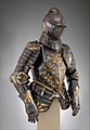 Foot-Combat Armor of Prince-Elector Christian I of Saxony (reigned 1586–91) MET DP271140.jpg