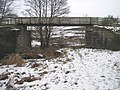 Footbridge taking Speyside Way over old railway bridge - geograph.org.uk - 324492.jpg