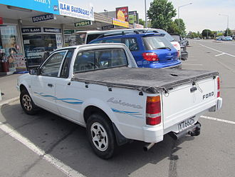 Ford Bantam - Ford Bantam (rear view)