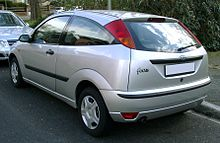 3-door hatch (post facelift) & Ford Focus (first generation) - Wikipedia