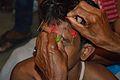 Forehead Piercing - Ujjal Majar - Gajan Sannyasi - Bainan - Howrah 2015-04-14 7984.JPG