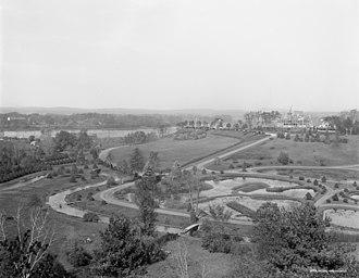 Forest Park (Springfield, Massachusetts) - Image: Forest Park Springfield Mass Laurel Hill 1910 1920 02