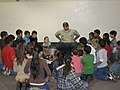 Forest Service Ranger with Children, Wallowa-Whitman National Forest (26800790035).jpg