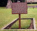 Former Gravesite King Arthur (GlastonburyAbbey).jpg
