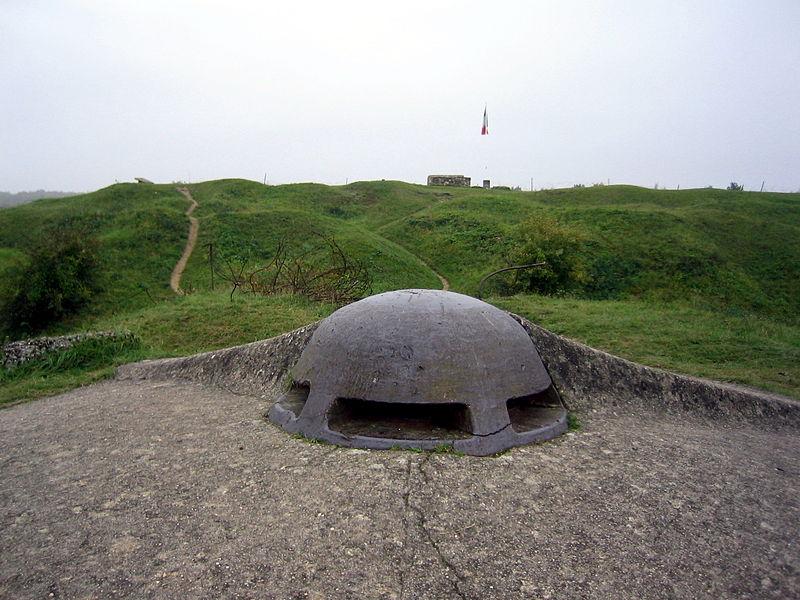 Fort de Vaux - Vue extérieure