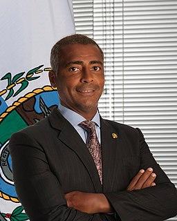 Romário Senator from Rio de Janeiro and former footballer