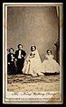 "Four dwarfs; ""Tom Thumb's"" wedding party in New York. Photog Wellcome V0029565.jpg"