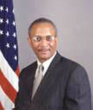 Francis X. Taylor - Francis X. Taylor during his time as Coordinator for Counterterrorism, ca. 2002.