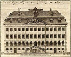 Francke Foundations - Francke Foundation: Orphanage (Engraving, 1749)