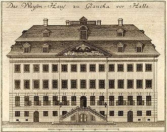 Francke Foundations - Francke Foundation: Orphanage (Engraving, 1749)