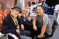 Frank Miller and Jim Lee at DC's Pop-Up Shop - SXSW 2018.jpg
