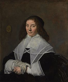 <i>Portrait of Dorothea Berck</i> painting by Frans Hals