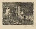 Frans Nackaerts - Zicht op Slachtstraat Leuven - Graphic work - Royal Library of Belgium - S.III 80104.jpg