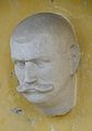 Franz Hagenhofer, bust in Kirchberg am Walde, Styria.jpg