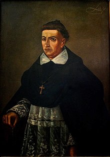 Antonio Alcalde Barriga born 14 March Fray Antonio Alcalde.jpg
