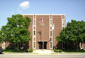 Fremont, Ohio - Fremont Municipal Building in downtown Fremont.