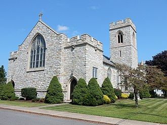 Hegins, Pennsylvania - Friedens United Church of Christ in Hegins.