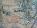 Fritz Syberg - Gamle træer fra Zoologisk Have - 1915.png