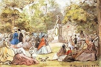 1858 in Sweden - Fritz von Dardel, En Bellmansfest den 26 juli (okänt år)