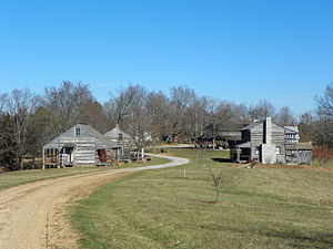 National Register of Historic Places listings in Perry County, Missouri - Image: Frohna, Missouri, Saxon Lutheran Memorial cabins