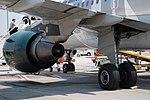 Frontier A319 CFM-56 & main gear (2715672489).jpg